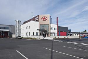 Kuljetusliike Vähälän rekkaterminaali Jyväskylään