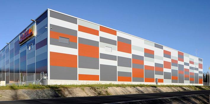DHL Logistiikkakeskus Ouluun