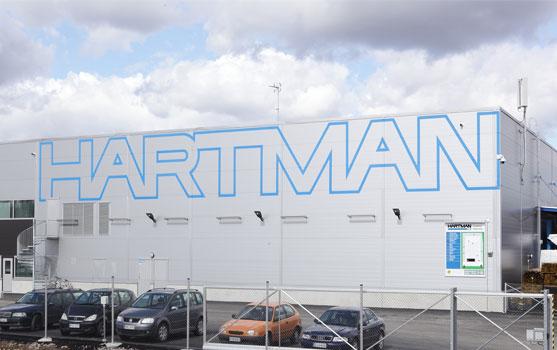 Oy Hartman Ab:n toimipiste Espoo