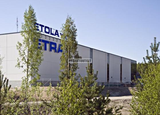 Etra Oy: logistiikkakeskus Hämeenlinnaan