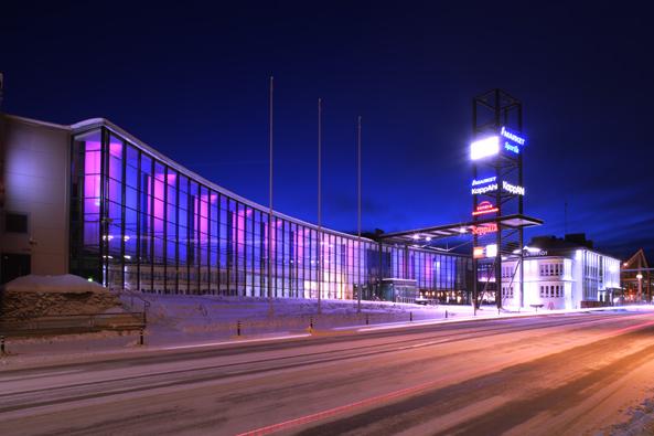 Kauppakeskus Revontuli Rovaniemelle