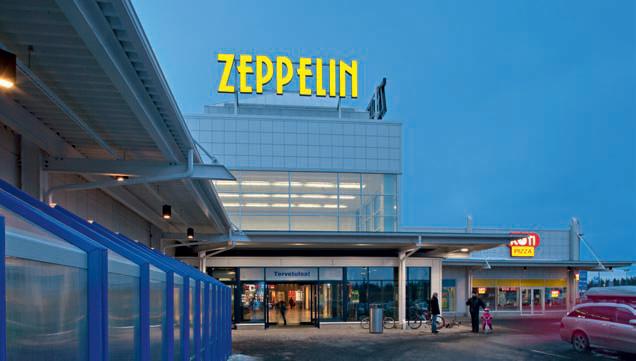 Kauppakeskus Zeppelin laajennus