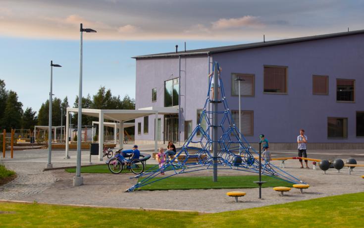 Isokylän monitoimitalo Kokkolaan