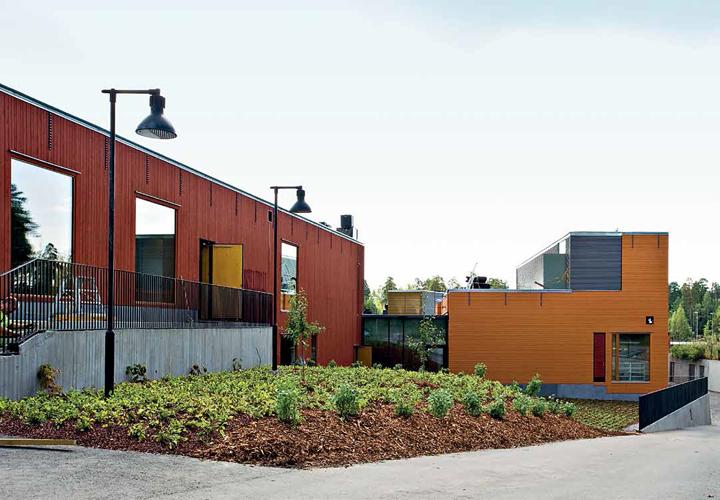 Sakarinmäen laajennettu koulukeskus