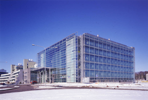 Biokeskus 3:n viilennys ja ikkunakalvot