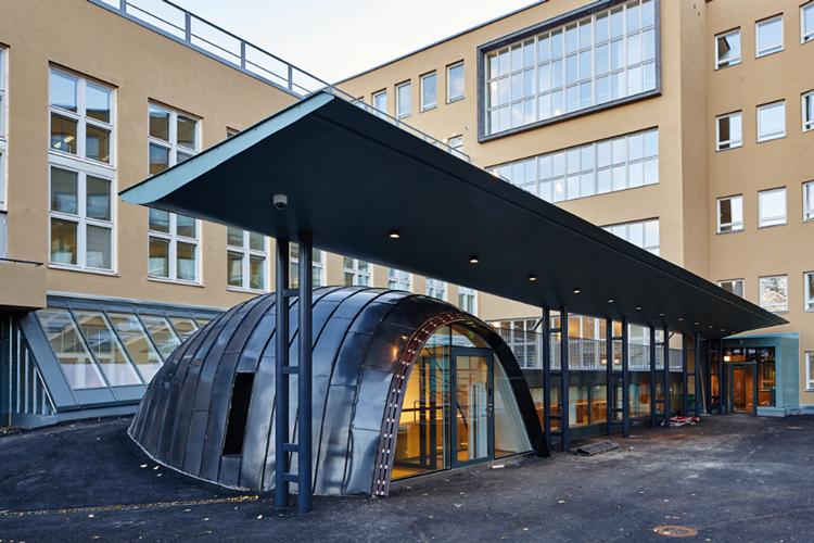 Sibelius-Akatemian uudet tilat