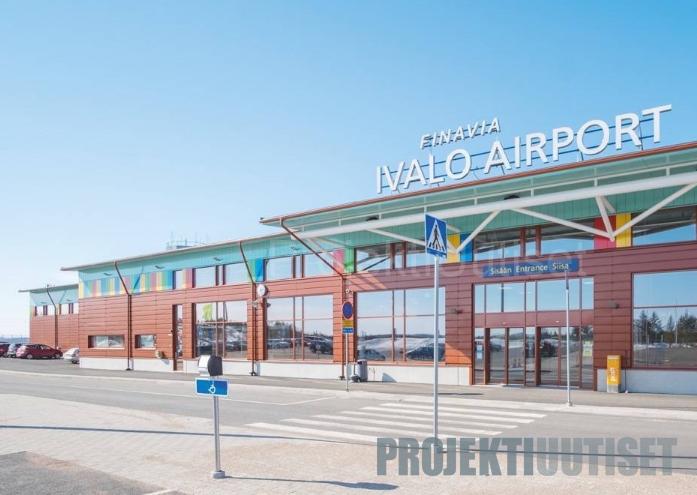 Ivalon lentoaseman terminaalin laajennus ja saneeraus