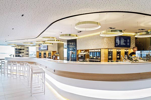 Wine & View -viinibaari Helsinki-Vantaan lentoasemalla