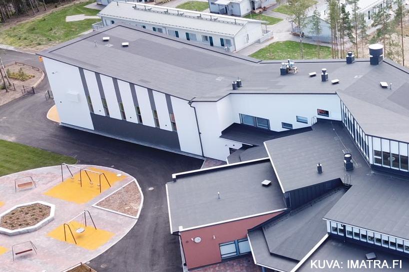 Vuoksenniskan koulu Imatralle