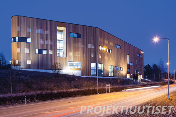 Ammattiopisto Liven uusi koulurakennus