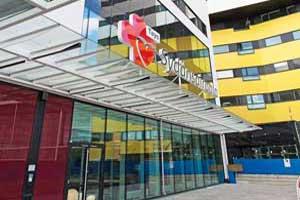TAYS D-siipi laajennuskohde Tampereella