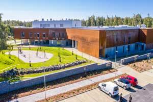 Pietarsaaren Kielikylpykoulu / Språkbadsskola
