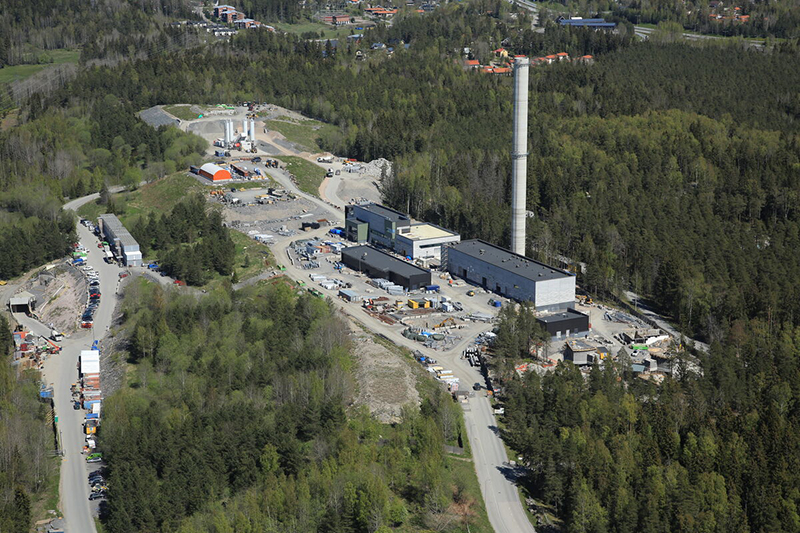 Blominmäen jätevedenpuhdistamo Espooseen
