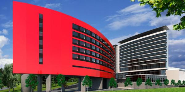 Sokos Hotel Flamingon laajennus Vantaalla