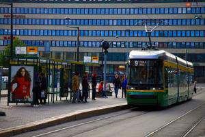 HKL  ja JCDecaux Finland Oy bussipysäkkien kunnostus