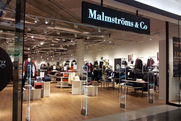 Malmströms & Co myymälä