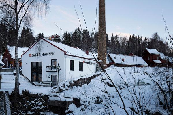 Baker Hansen myymälä