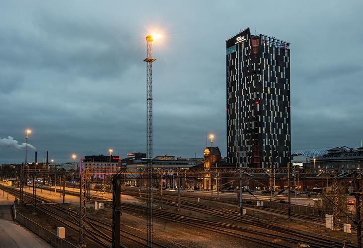 Tornihotelli Tampere