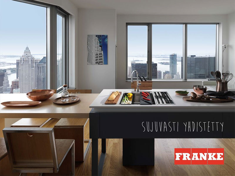 Franke Kitchen systems ja Franke Water systems