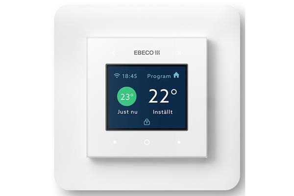 Ebeco lanseeraa aivan uudenlaisen termostaatin sähkö ja valo -messuilla 5-7.2.2020