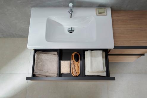 Geberitin uudet kalustesarjat vapauttavat kylpyhuoneen suunnittelua
