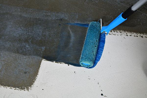 Hallittu betonin päällystäminen