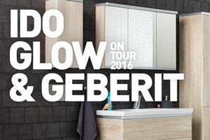 IDO Glow & Geberit On Tour 2016