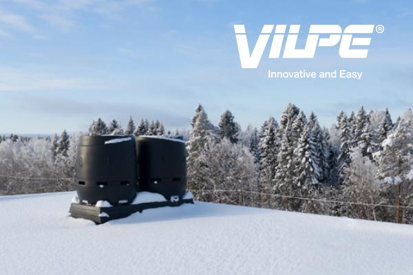 Jäteilman ulospuhallushajottaja 315–630S FLOW on taattua VILPE-laatua