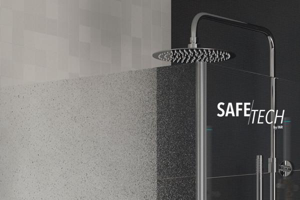 Maailman turvallisin suihkulasi – Safetech by INR