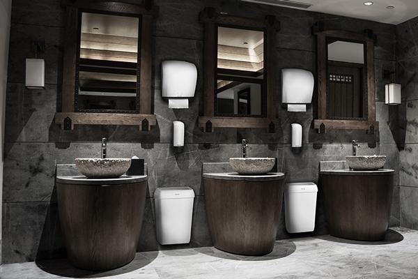 Plus-tason hygieniaratkaisu korkean käyttöasteen WC-tiloihin