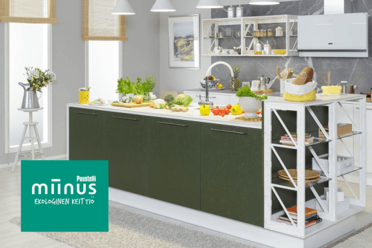 Puustelli Miinus - innovatiivista keittiösuunnittelua