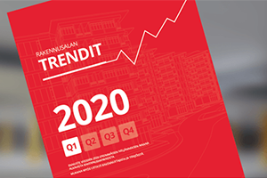 Rakennusalan trendit Q1/2020 on julkaistu