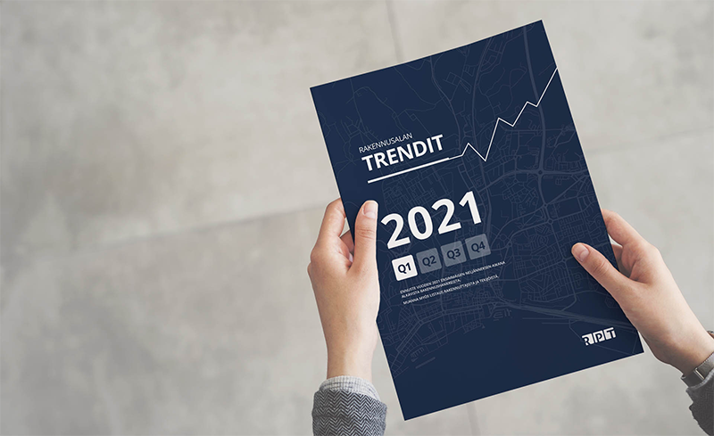 Rakennusalan trendit Q1/2021 on julkaistu