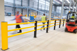 Safety First!  A-SAFEn joustavat törmäyssuojat parantavat turvallisuutta