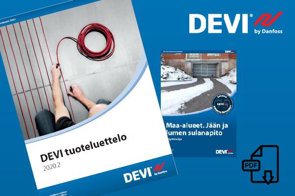Tutustu DEVI-sovellutusoppaisiin ja uuteen tuoteluetteloon